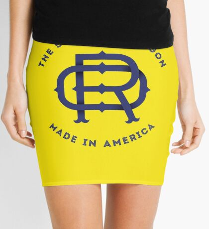 OR Oregon Monogram Mini Skirt