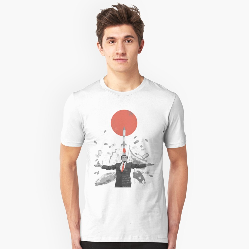 The Rise of Crypto 03 Unisex T-Shirt Front