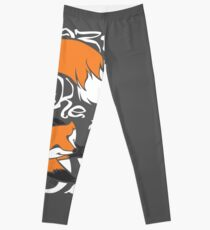 Crazy Like A Fox (Orange) Leggings