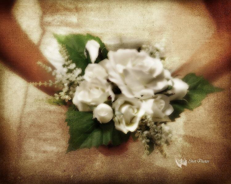A bride in a moment of silence.... by TeddiComer