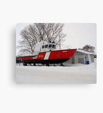 snowed in coast guard Leinwanddruck
