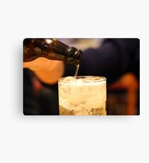 Time for a beer Canvas Print