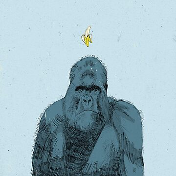 Mountain Gorilla by teatimerooster