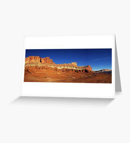 Capitol Reef Panorama Greeting Card