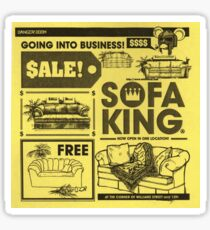 Sofa King Sticker
