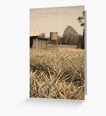 Water tank Greeting Card