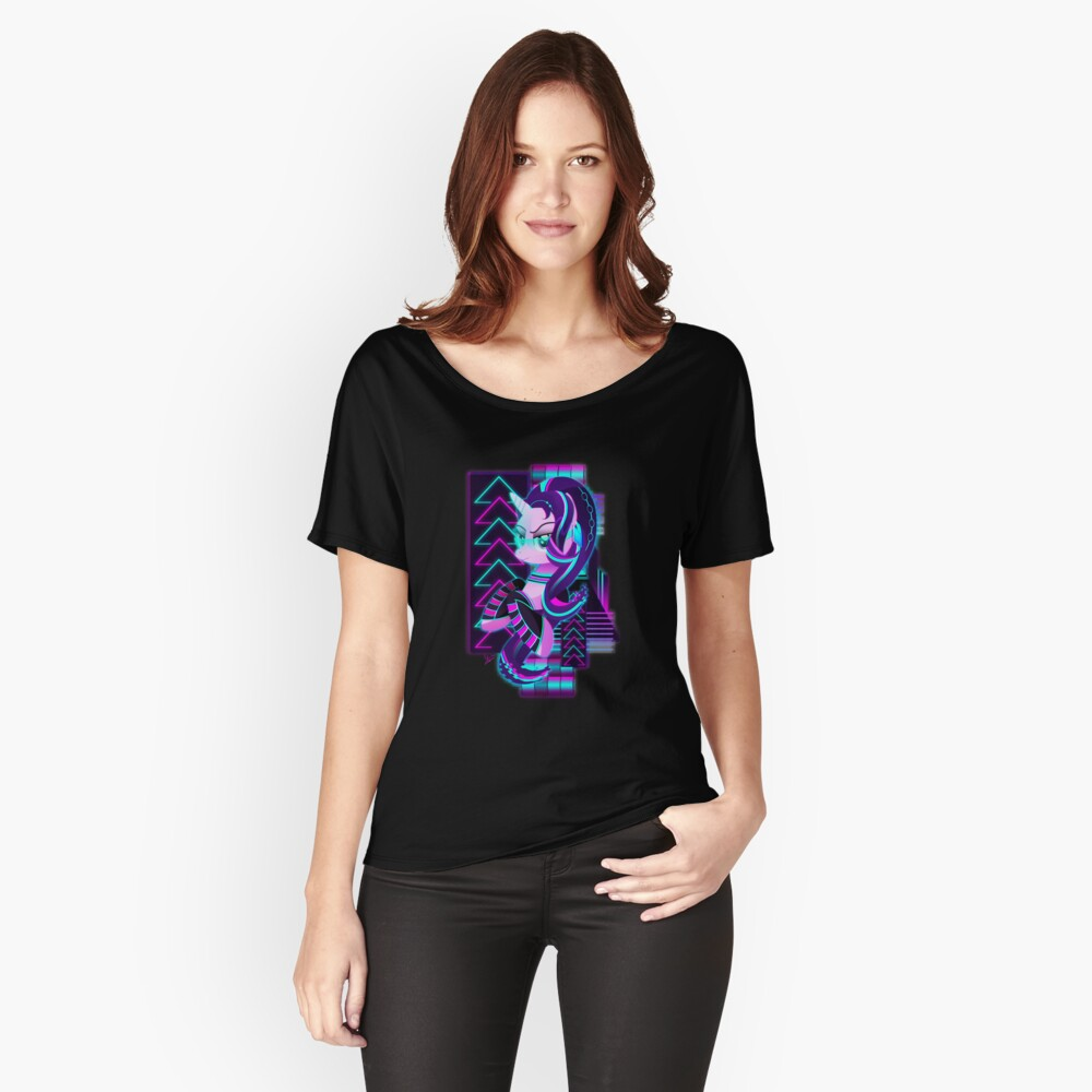 Synthwave Starlight Glimmer Loose Fit T-Shirt