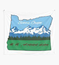 Tela decorativa Hermanas, Oregon [Diseño alterno]