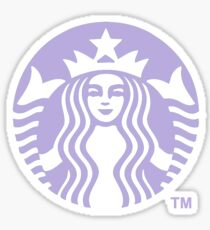 Pastel Purple Starbucks Sticker