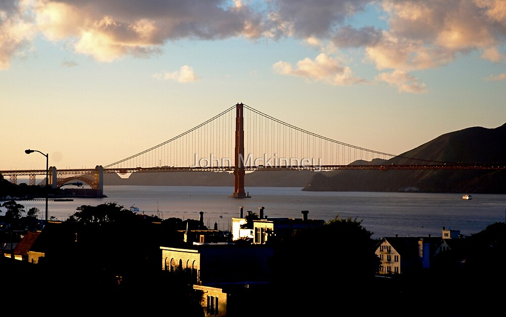 Golden Gate  by John Mckinney