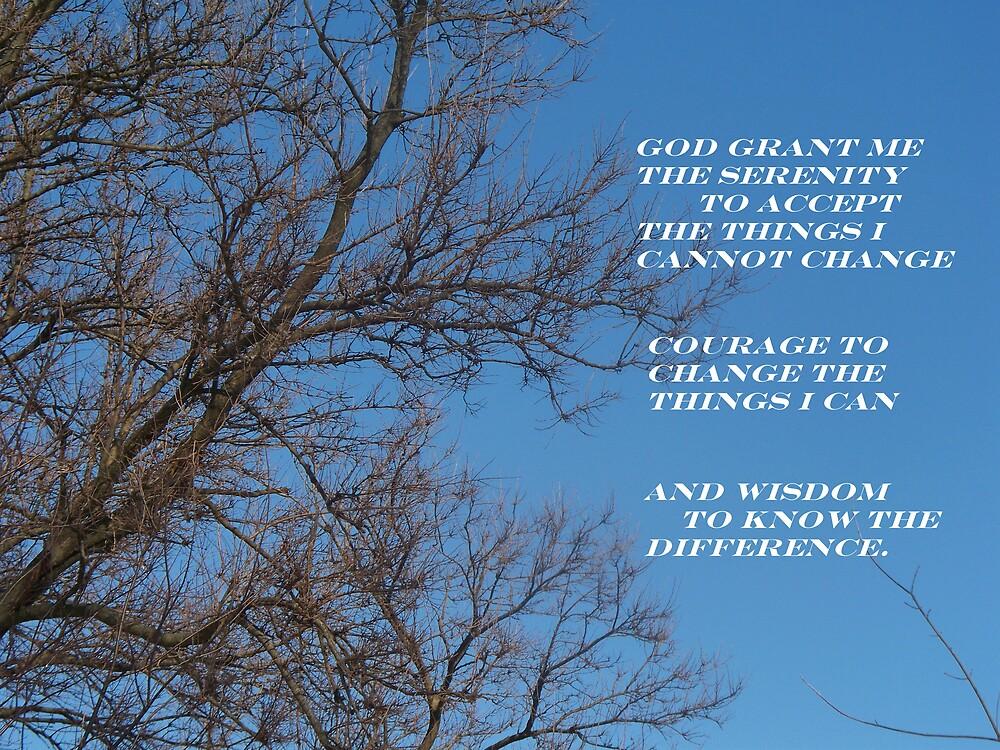 The Serenity Prayer by grannyjune