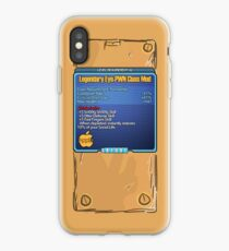 Legendary Eye-Pwn Class Mod iPhone Case