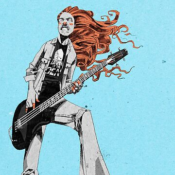 Cliff Burton by teatimerooster