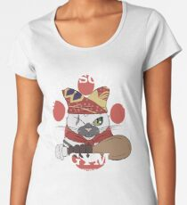 Meowscular Gym Women's Premium T-Shirt
