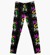 Mardi Gras Squad - Funny Mardi Gras Gift Leggings