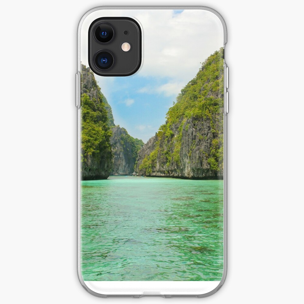 Paradise landscape El Nido Palawan Philippines iPhone Case & Cover