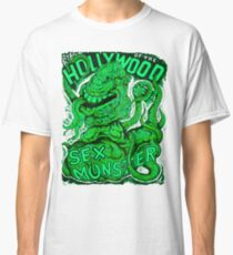 Attack of the Hollywood Monster Classic T-Shirt