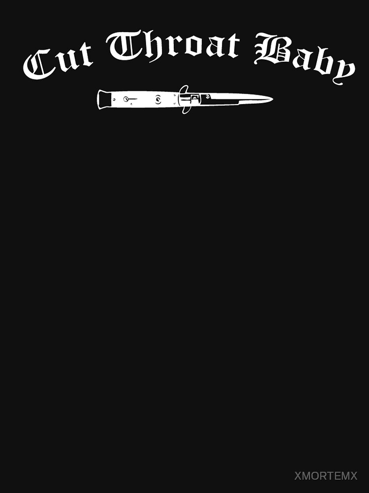 """""""Cut throat baby"""" Unisex T-Shirt by XMORTEMX 