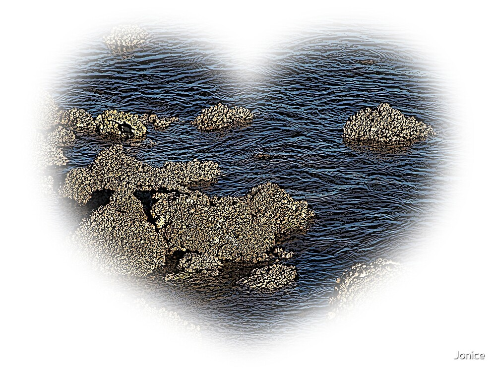My Hearts At The Beach by Jonice