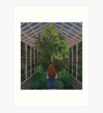 Greenhouse- warm hued Art Print