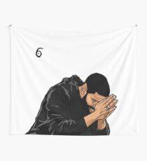 Drake 6 God Wall Tapestry Wall Tapestry
