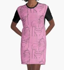 love and protection Graphic T-Shirt Dress