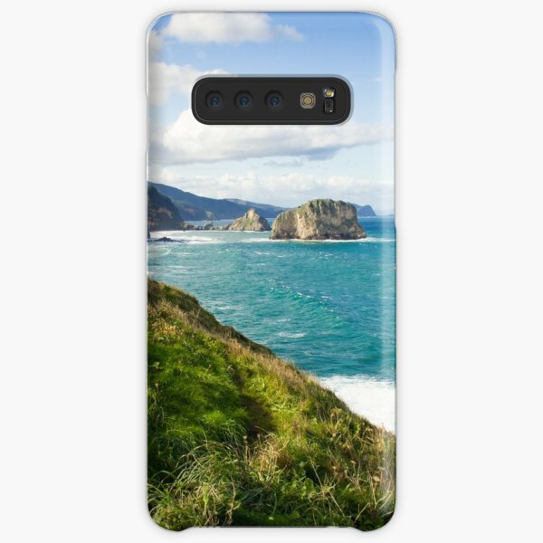 Basque Country coast landscape Samsung Galaxy Snap Case