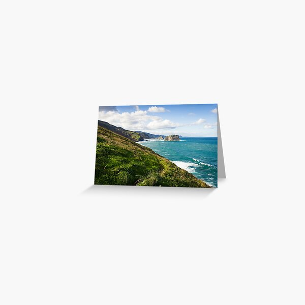 Basque Country coast landscape Greeting Card