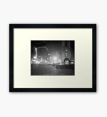 Broadway at Night, 1910 Framed Print