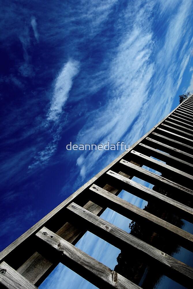 Heaven's Ladder by deannedaffy