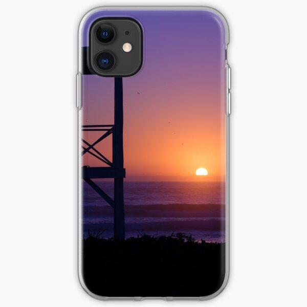Sunset love iPhone Soft Case