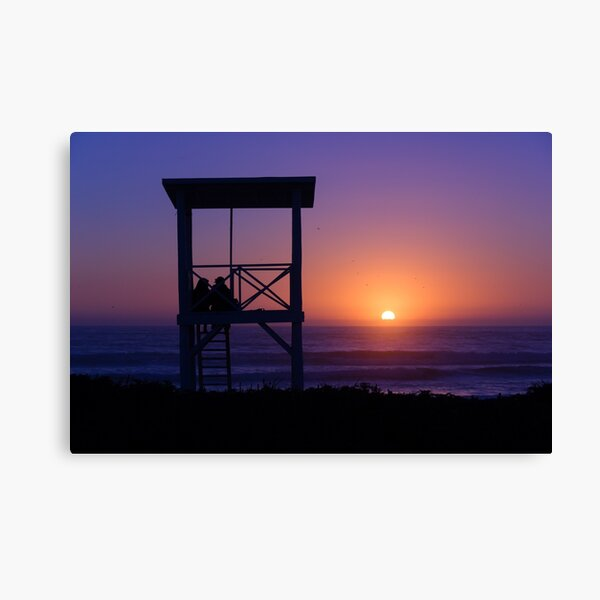Sunset love Canvas Print