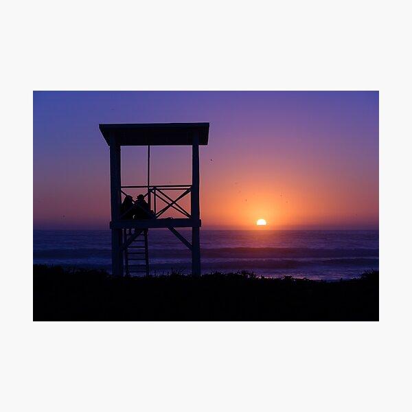 Sunset love Photographic Print
