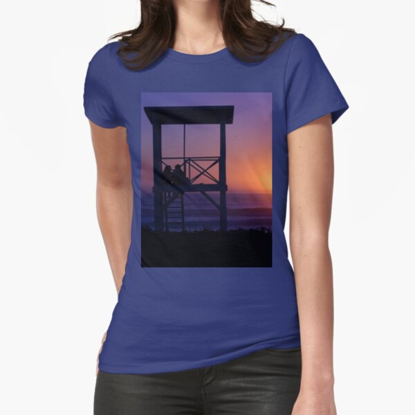 Sunset love Fitted T-Shirt