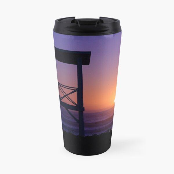 Sunset love Travel Mug