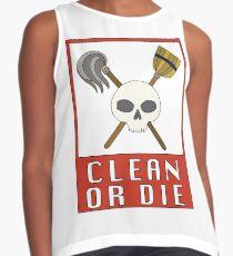 Clean or Die Contrast Tank