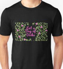 3b68085b21 Eat a Bag of Dicks - Suck a Dick Floral Pattern Unisex T-Shirt