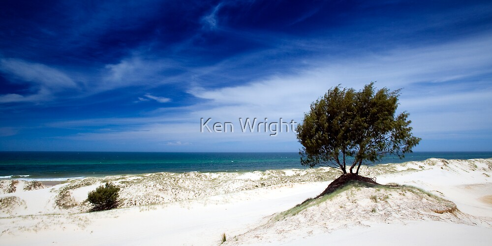 South Stradbroke Island by Ken Wright