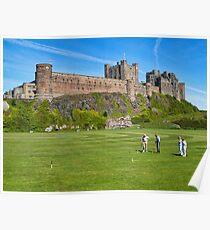 Bamburgh Castle, Northumberland,UK Poster