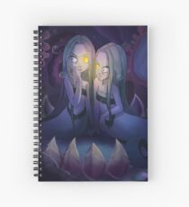 Mermaid Floatsam and Jetsam Spiral Notebook