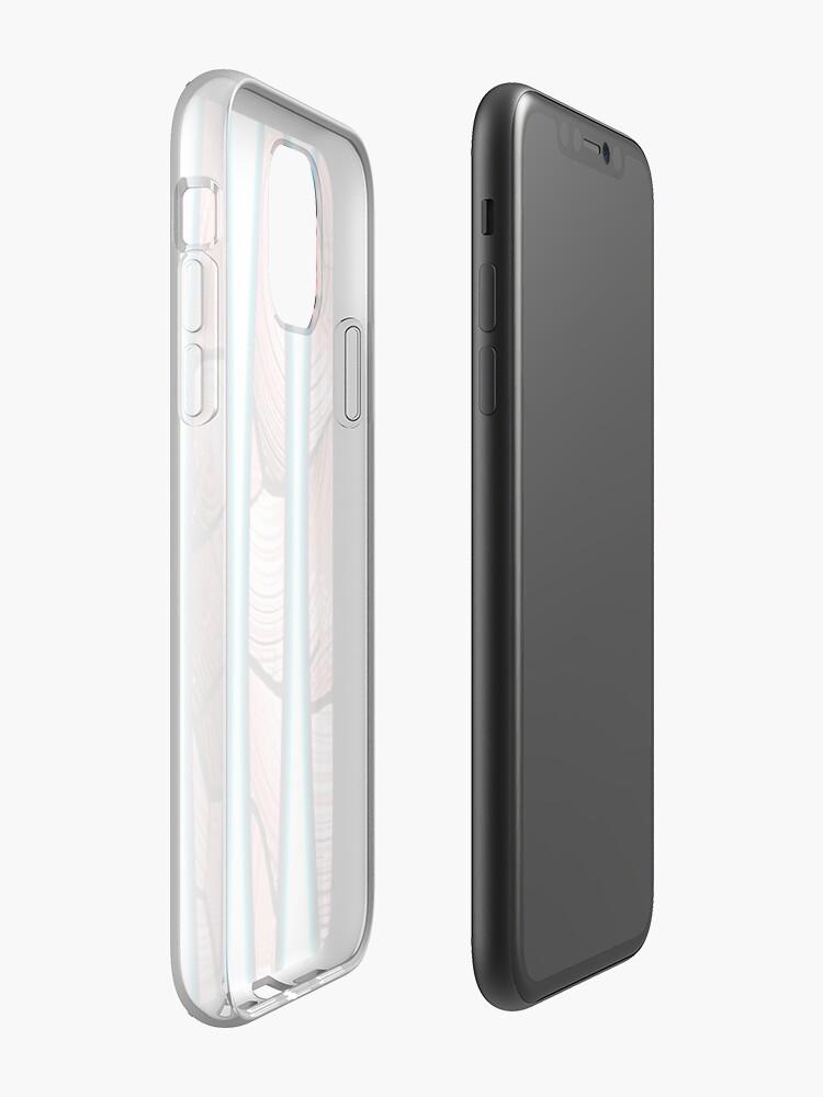 coque phosphorescente | Coque iPhone «Ne marchez pas sur la plage bleue», par JLHDesign