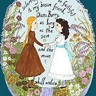 Anne & Diana by neuroticowl