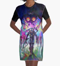 Vestido camiseta Fierce Deity Link & Majora - La leyenda de Zelda: Máscara de Majora 3D