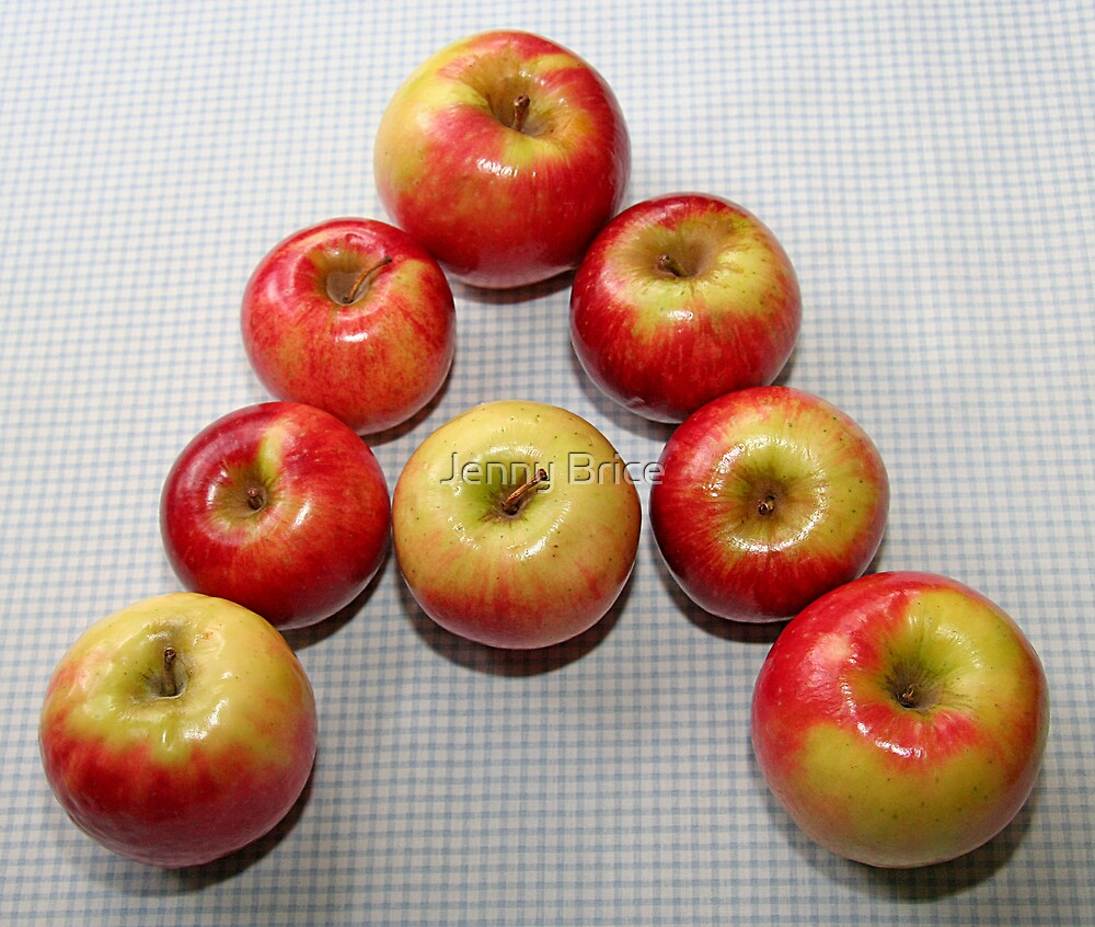 A Is For Apple by Jenny Brice