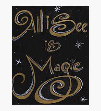 Magic Photographic Print