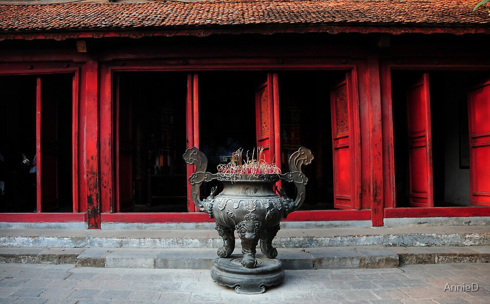 Ngoc Son Temple by AnnieD