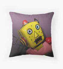 I am so scared! Throw Pillow