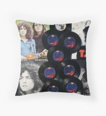 A Vinyl Tribute - 40th Anniversary Throw Pillow