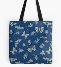 Cyanotype insects Tote Bag