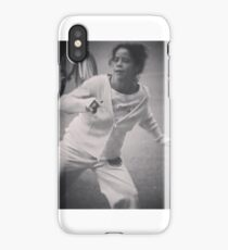 Martial arts outdoors  in mexico city  iPhone Case/Skin
